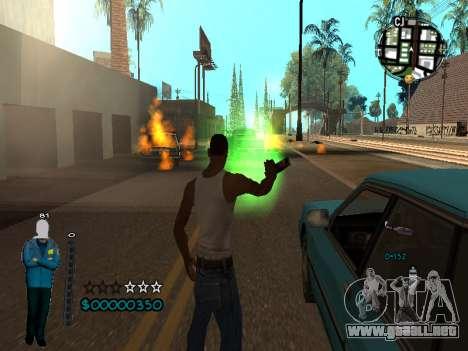 FBI HUD para GTA San Andreas sucesivamente de pantalla