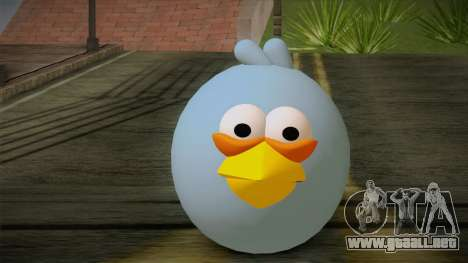 Blue Bird from Angry Birds para GTA San Andreas tercera pantalla