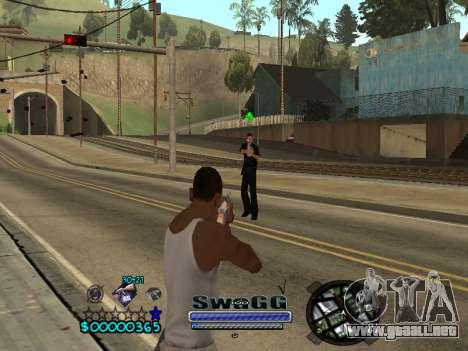 CLEO HUD SWAGG para GTA San Andreas tercera pantalla