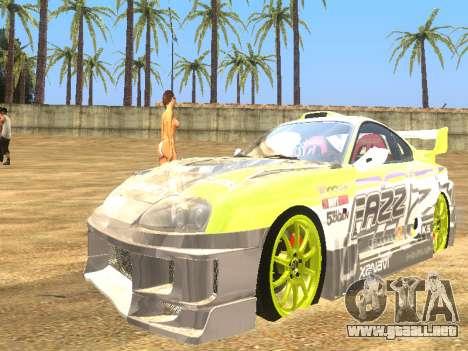 Simple ENB para PC de bajos para GTA San Andreas tercera pantalla