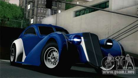 GTA V Truffade Z-Type [HQLM] para GTA San Andreas