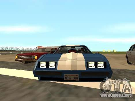 New Phoenix para GTA San Andreas vista posterior izquierda