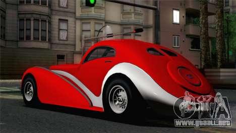 GTA V Truffade Z-Type [IVF] para GTA San Andreas left