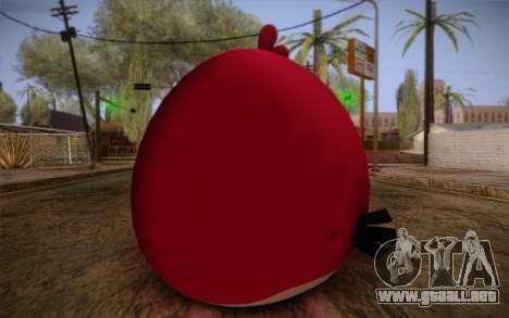 Big Brother from Angry Birds para GTA San Andreas segunda pantalla