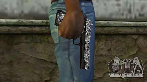 Nueva Pistola v1 para GTA San Andreas tercera pantalla