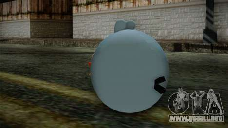 Blue Bird from Angry Birds para GTA San Andreas segunda pantalla