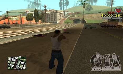 C-HUD By Fernando para GTA San Andreas tercera pantalla