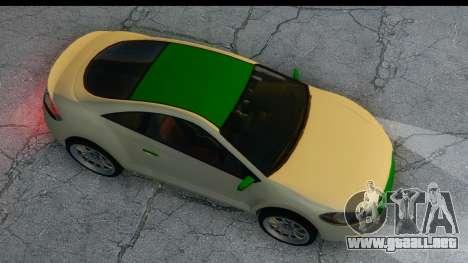 GTA 5 Maibatsu Penumbra para GTA San Andreas vista hacia atrás