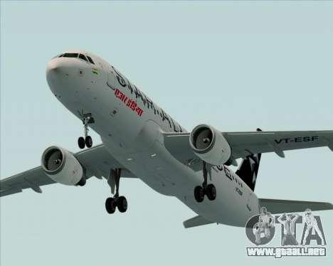 Airbus A320-200 Air India (Star Alliance Livery) para el motor de GTA San Andreas