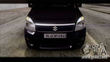 Suzuki Wagon R 2010 para la visión correcta GTA San Andreas