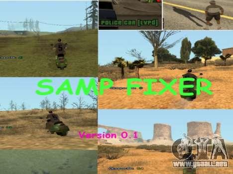 SAMP Fixer para GTA San Andreas