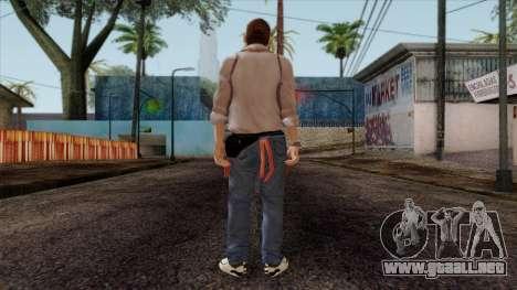 GTA 4 Skin 13 para GTA San Andreas segunda pantalla