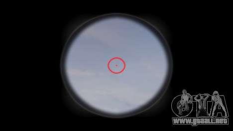 Tácticas de asalto M4 rifle de destino para GTA 4 tercera pantalla