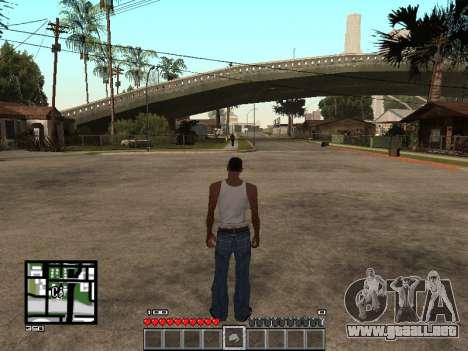 C-Hud Minecraft para GTA San Andreas