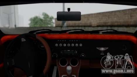 Morgan AeroSS 2013 v1.0 para GTA San Andreas vista posterior izquierda