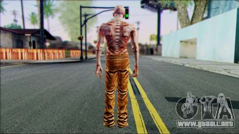 Outlast Skin 4 para GTA San Andreas segunda pantalla