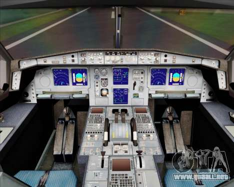 Airbus A340-300 Airbus S A S House Livery para GTA San Andreas interior