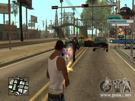 C-HUD Hombre en una Tapa para GTA San Andreas quinta pantalla