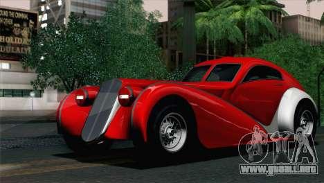 GTA V Truffade Z-Type [IVF] para GTA San Andreas