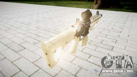 Rifle AR-15 CQB destino aimpoint para GTA 4 segundos de pantalla