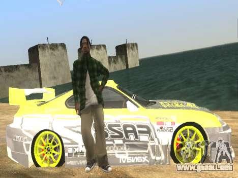 Simple ENB para PC de bajos para GTA San Andreas quinta pantalla