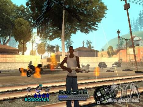 CLEO HUD SWAGG para GTA San Andreas sucesivamente de pantalla