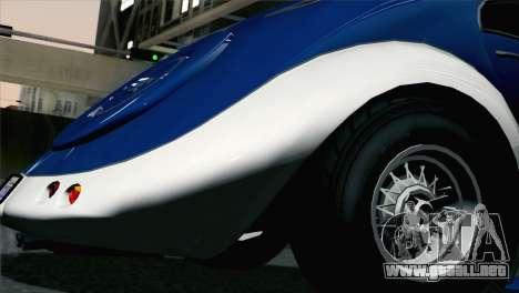 GTA V Truffade Z-Type [HQLM] para GTA San Andreas vista posterior izquierda