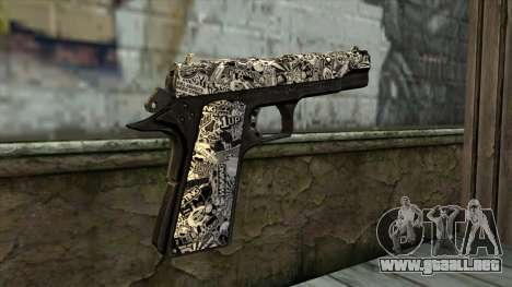 Nueva Pistola v1 para GTA San Andreas segunda pantalla
