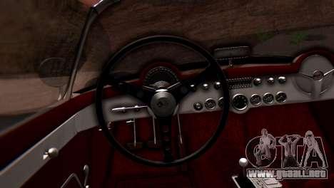 Chevrolet Corvette C1 1962 PJ para la visión correcta GTA San Andreas