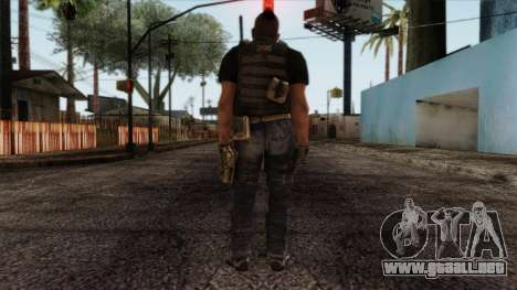 Modern Warfare 2 Skin 17 para GTA San Andreas segunda pantalla