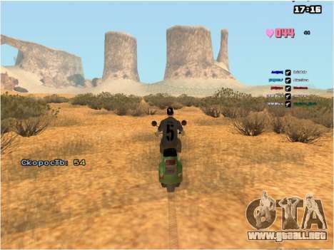 SAMP Fixer para GTA San Andreas segunda pantalla