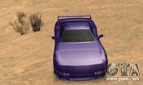 Beta ZR-350 para las ruedas de GTA San Andreas