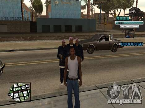 C-HUD Hombre en una Tapa para GTA San Andreas
