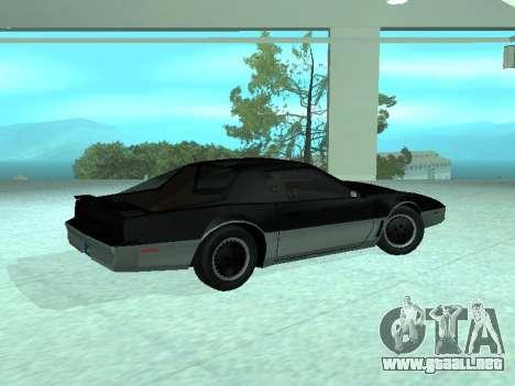 Pontiac Trans-Am K. R. R. R. para GTA San Andreas left