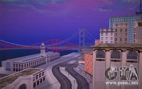 FaFan ENB series para GTA San Andreas tercera pantalla