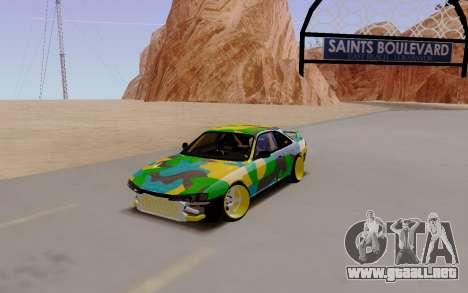 Nissan Silvia S14 Hunter para GTA San Andreas