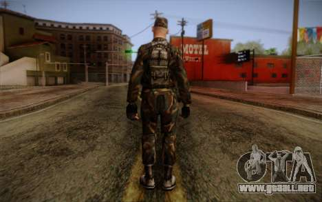 Soldier Skin 3 para GTA San Andreas segunda pantalla