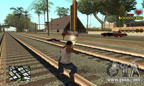 C-HUD By Fernando para GTA San Andreas segunda pantalla