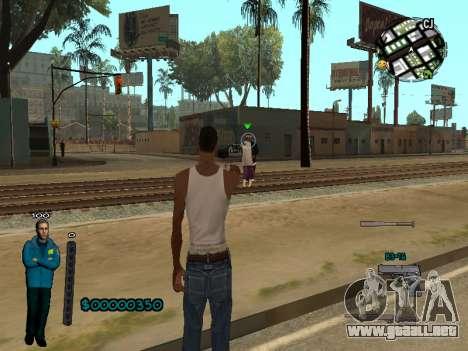 FBI HUD para GTA San Andreas