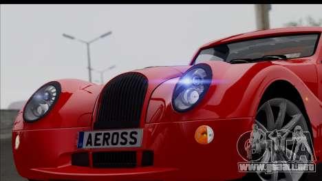Morgan AeroSS 2013 v1.0 para la visión correcta GTA San Andreas