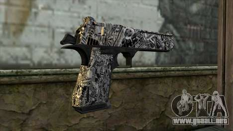 Nueva Pistola v2 para GTA San Andreas segunda pantalla