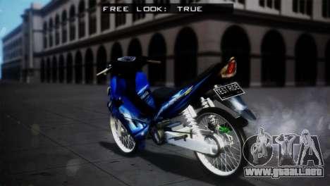 Yamaha Jupiter Z Burhan para GTA San Andreas left