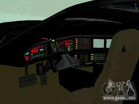 Pontiac Trans-Am K. R. R. R. para visión interna GTA San Andreas