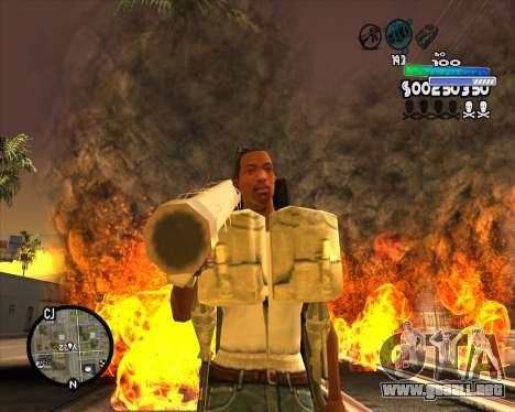 С-HUD Metro para GTA San Andreas segunda pantalla