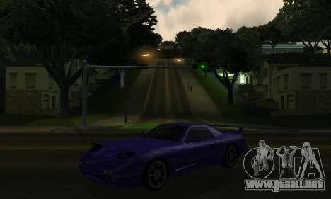 Beta ZR-350 para visión interna GTA San Andreas