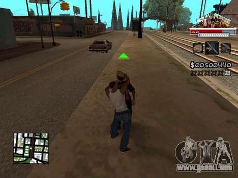 CLEO HUD for SA:MP - RP para GTA San Andreas tercera pantalla