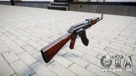 El AK-47 Stock para GTA 4 segundos de pantalla