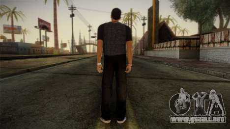 Gedimas Jamal Skin HD para GTA San Andreas segunda pantalla