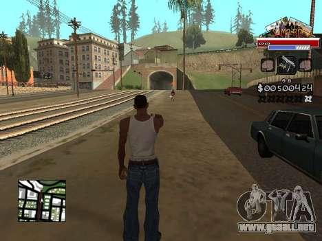 CLEO HUD for SA:MP - RP para GTA San Andreas