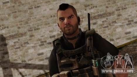 Modern Warfare 2 Skin 17 para GTA San Andreas tercera pantalla